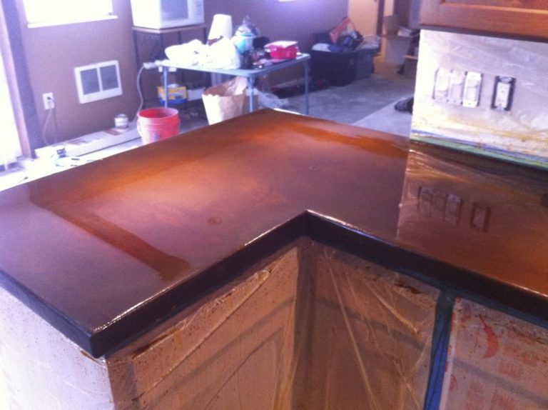 Bronzed Countertop